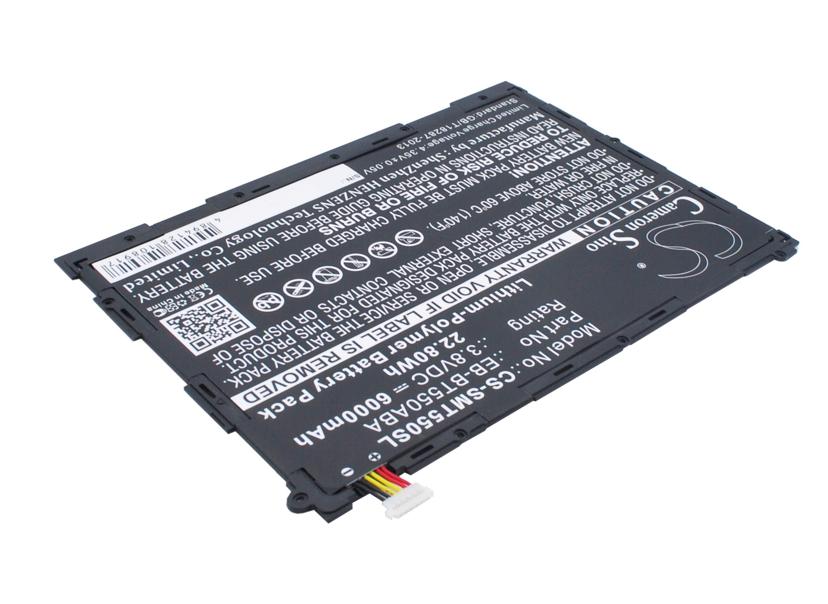 SM-T555 with Tools Tablet Battery For Samsung EB-BT550ABE SM-P555Y SM-T550