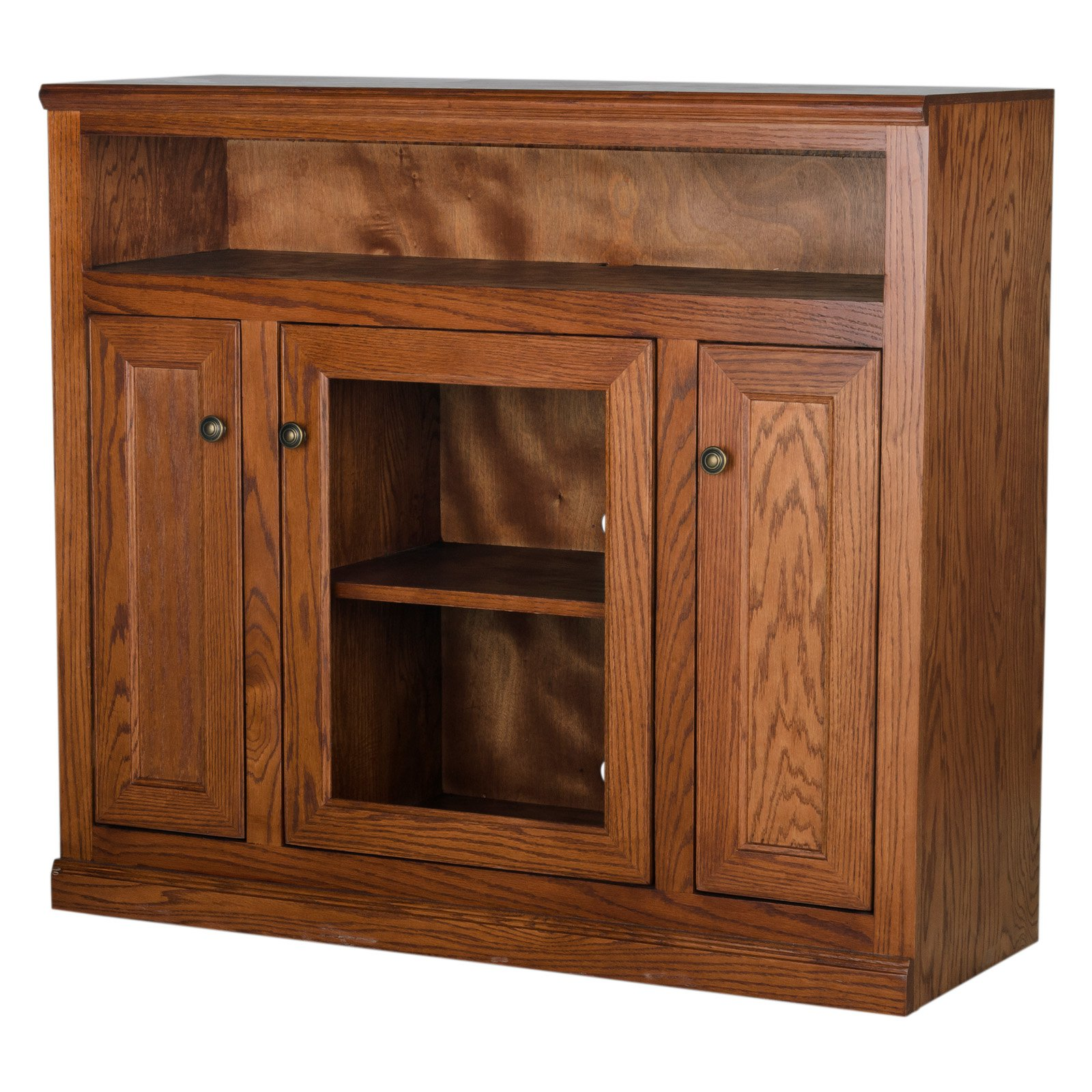 Eagle Furniture 45 in. Simply Oak Entertainment Console with 3 Doors