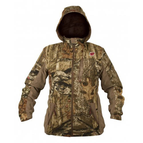 Women's Fleece Protec HD Jacket Sola, Mossy Oak Infinity, Available in Multiple Sizes by Generic