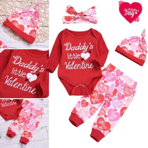 newborn Valentine/'s Day Valentine/'s Day outfit daddy is my valentine be mine baby Valentine/'s Day outfit my first Valentine/'s Day