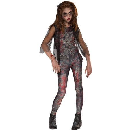 Zombie Dawn Child Halloween Costume - Halloween Makeup Zombie Nurse