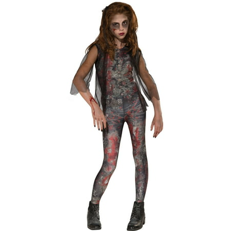 Zombie Dawn Child Halloween Costume](Female Zombie Costumes)