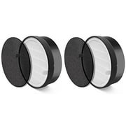 2 Sets Levoit Air Purifier LV-H132 Compatible HEPA Filter. Compared To Part LV-H132-RF