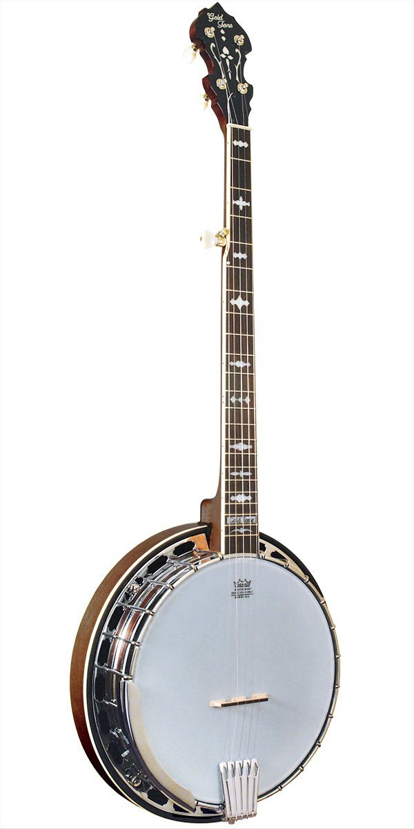 Gold Tone Orange Blossom 5-String Masterclone Banjo w  Hard Case OB-150 by Gold Tone