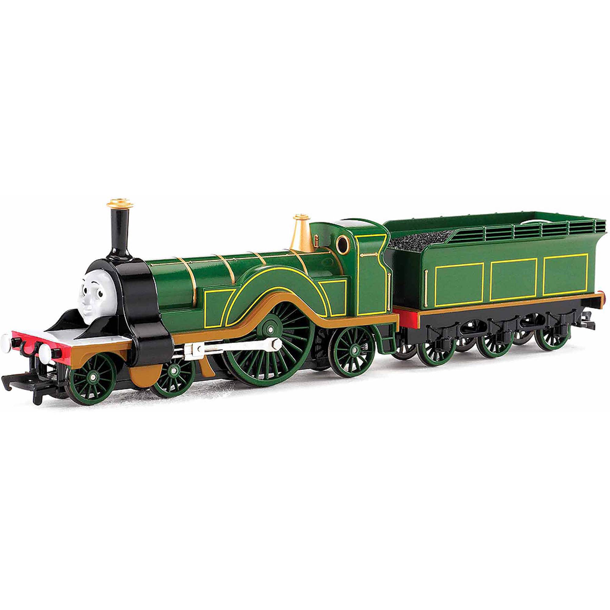 Bachmann Trains Thomas and Friends Emily Locomotive with Moving Eyes, HO Scale Train