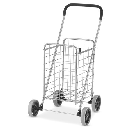 Box Utility Cart - Whitmor Rolling Utility Cart Silver / Black