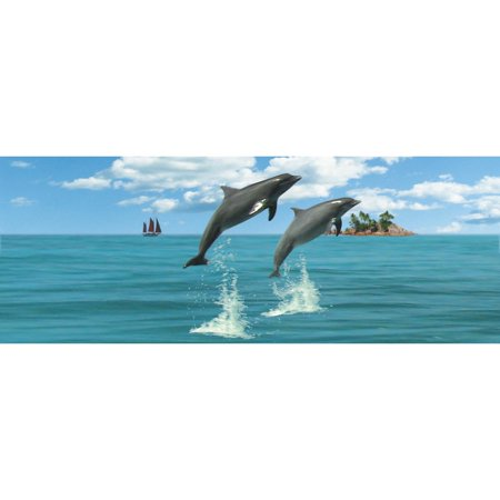 Dolphins Lenticular Bookmark by Moovie Studio](Bulk Bookmarks)