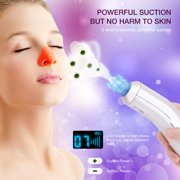 Hilitand 2 Colors Pore Cleaner Blackhead Removal Vacuum Suction Acne Pimple Grease Cleaner Face Skin Care Machine