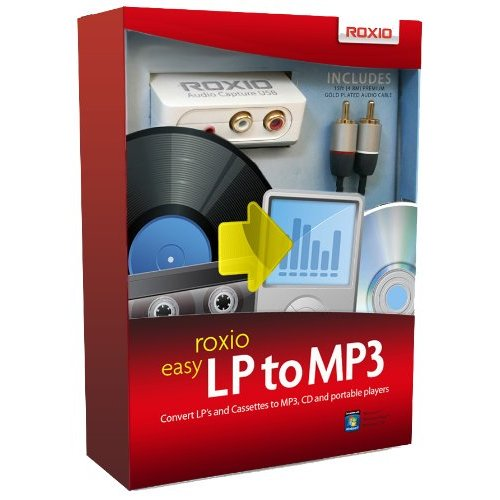 Roxio EASY LP TO MP3 - Complete Product - 1 User - Utility - Standard Retail - PC - Sonic Solutions 243600