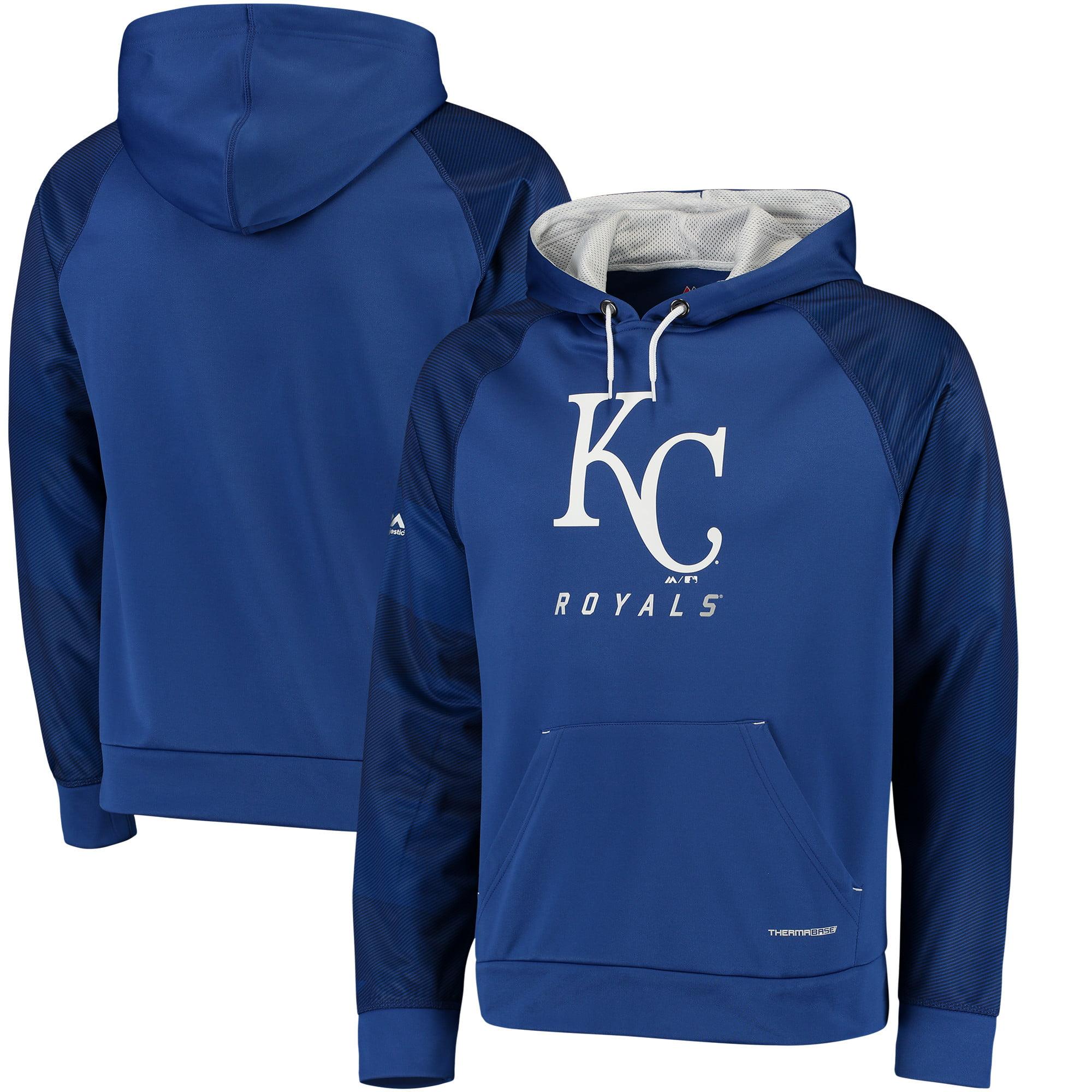 "Kansas City Royals Majestic MLB ""Armor 2"" Men's Pullover Hooded Sweatshirt by MAJESTIC LSG"