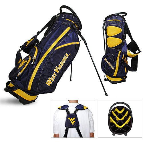 Team Golf NCAA West Virginia Fairway Golf Stand Bag by Generic
