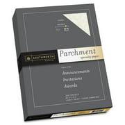 Southworth, SOUJ988C, Parchment Specialty Paper, 250 / Box, Ivory