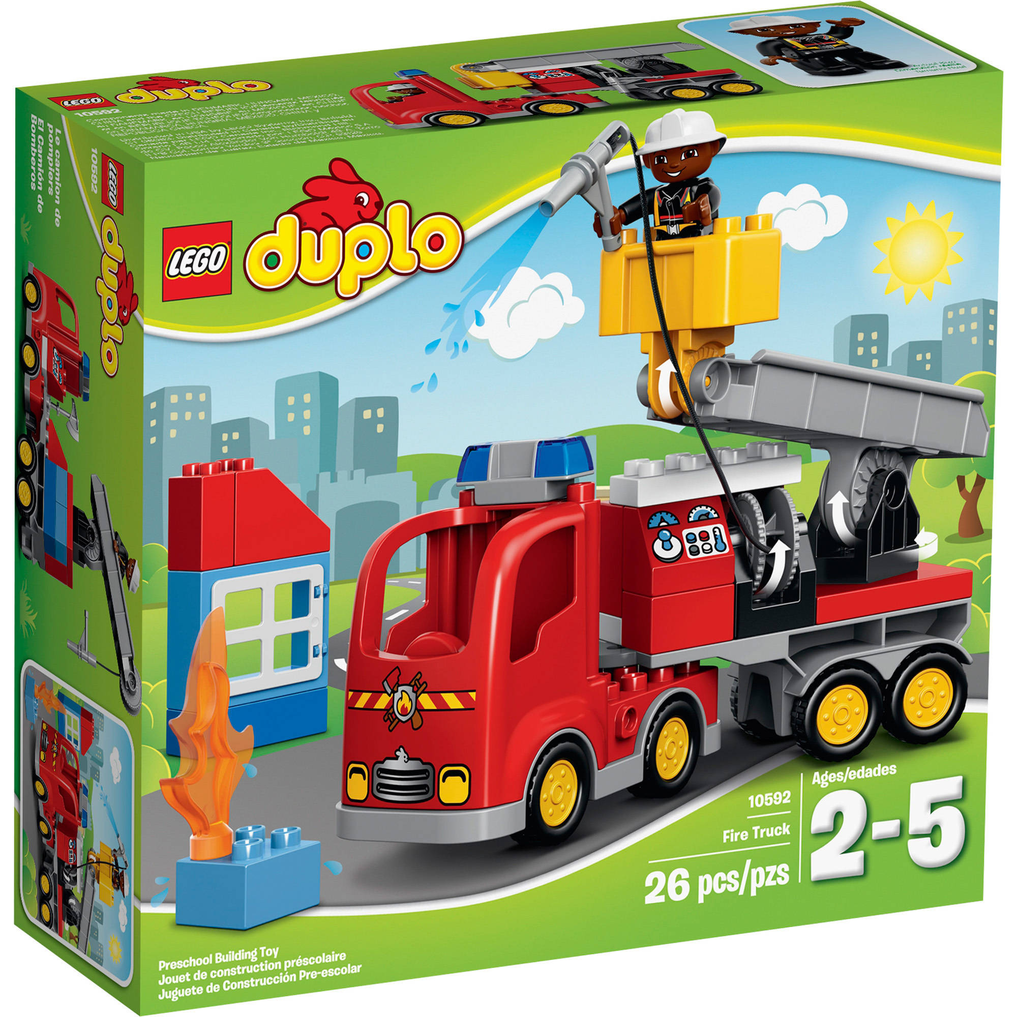 Lego DUPLO Town Fire Truck, 10592 by LEGO Systems, Inc.