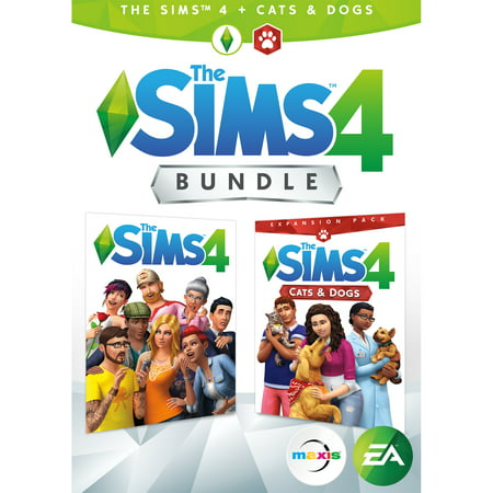 Electronic Arts The Sims 4 Plus Cats & Dogs Bundle (Email