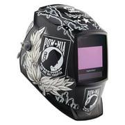 Miller Electric Auto Darkening Welding Helmet, Black/White 260127