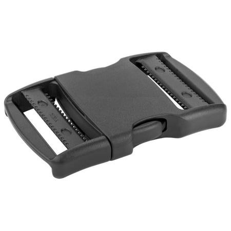 2 Inch YKK Flat Dual Adjustable Side Release Plastic (Buckle Dial)