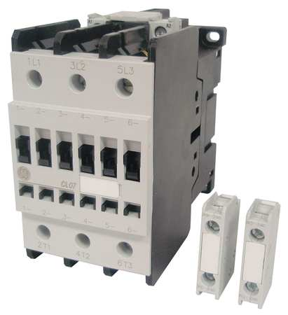 GENERAL ELECTRIC CL06A311MS Contactor, IEC, 240VAC, 3P, 48A