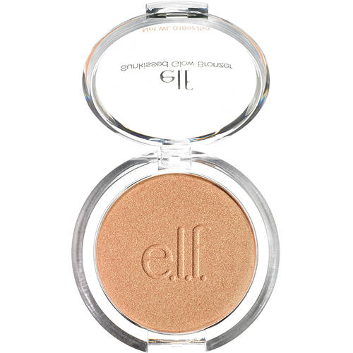 e.l.f. Sunkissed Glow Bronzer, Sun Kissed, 0.18 oz