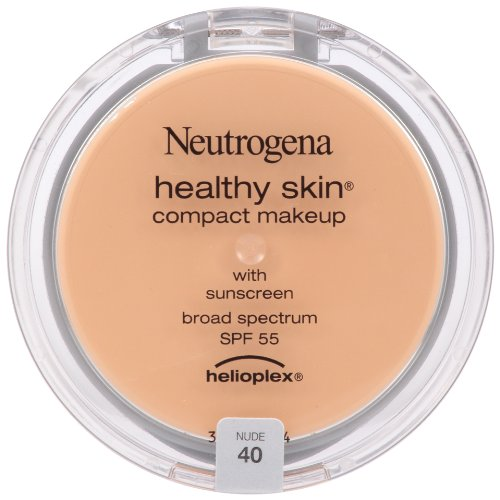 Neutrogena Healthy Skin Compact Makeup SPF 55 with Helioplex, Nude 40, 0.35 Ounce