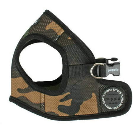 114676 Harness, Soft B Vest Camo, S
