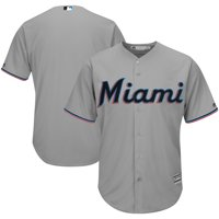 Product Image Miami Marlins Majestic 2019 Official Cool Base Jersey - Gray 0c78f282a