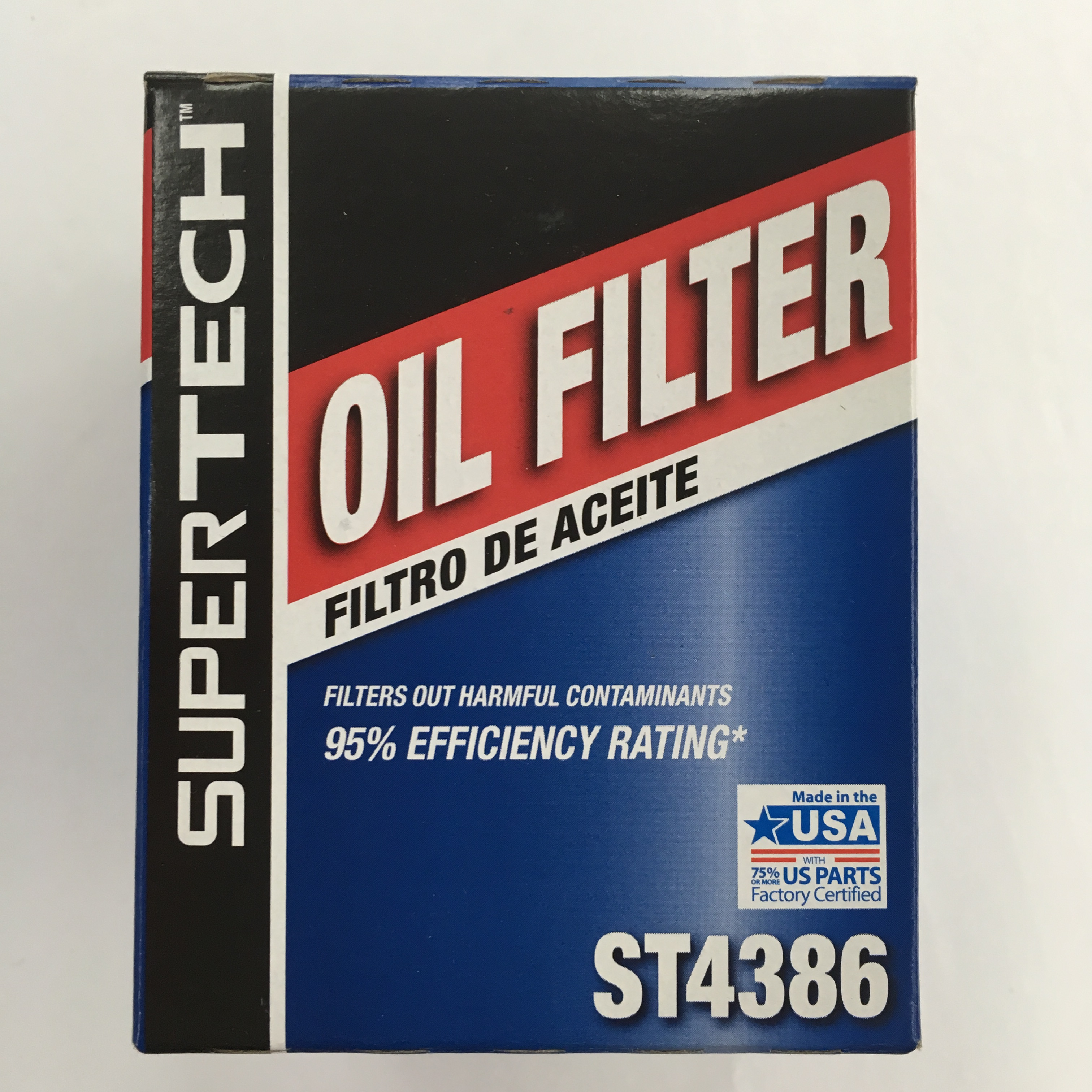 Super Tech Spin-on Oil Filter