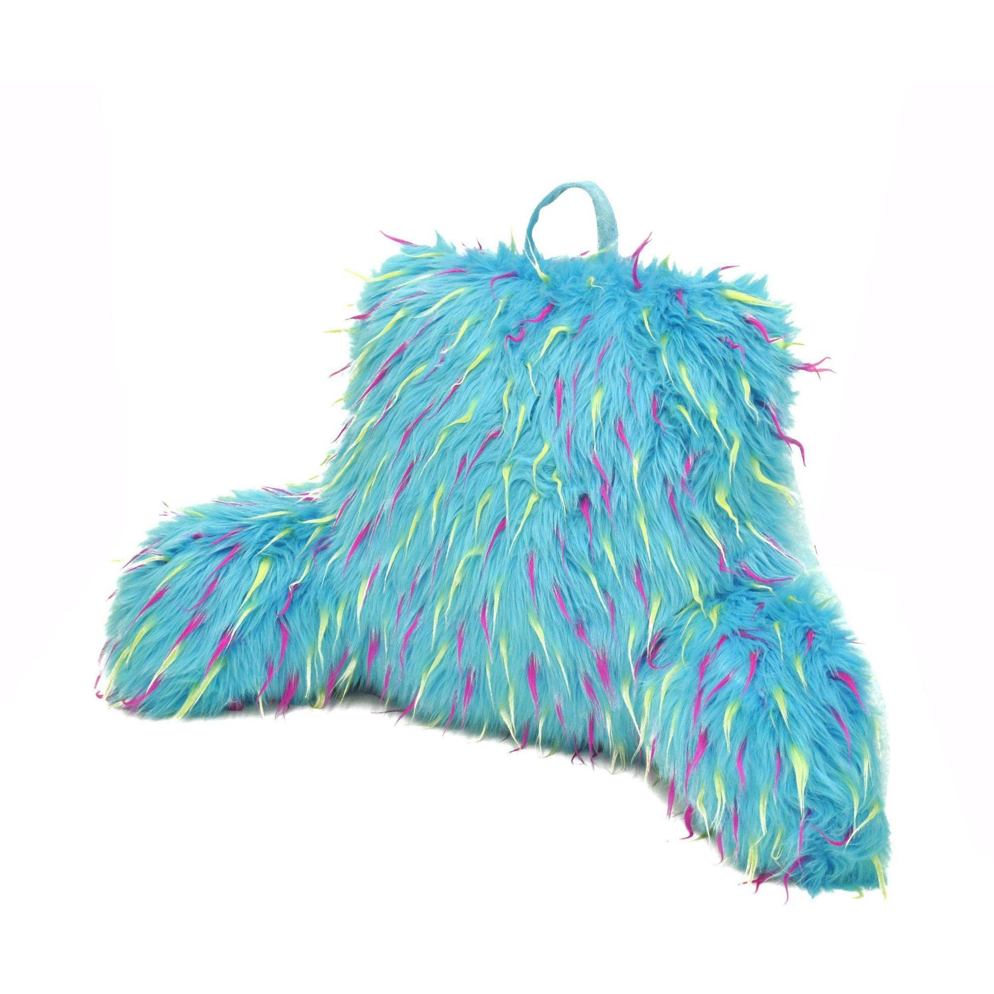 your zone spiker-fur backrest pillow