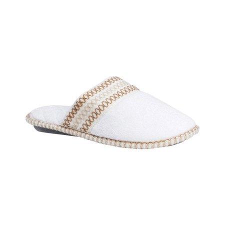 MUK LUKS Cathy Micro Chenille Closed Toe Slippers (Women's) HJv44d