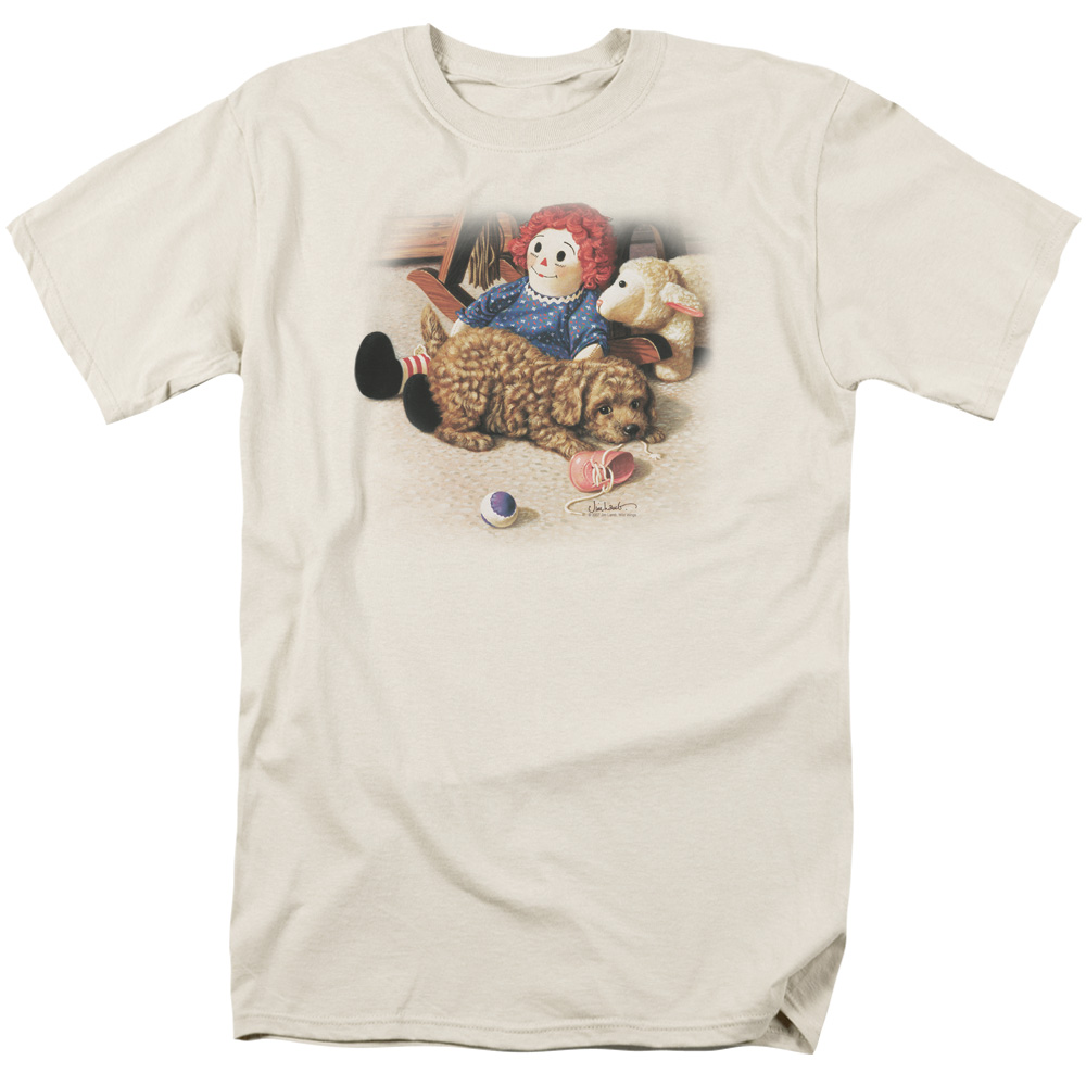 Wildlife/Fun And Games   S/S Adult 18/1   Cream     Ww133
