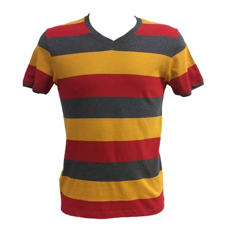 Old Navy Men's Short Sleeve V-Neck Striped Classic Tee Old Navy Outfitters