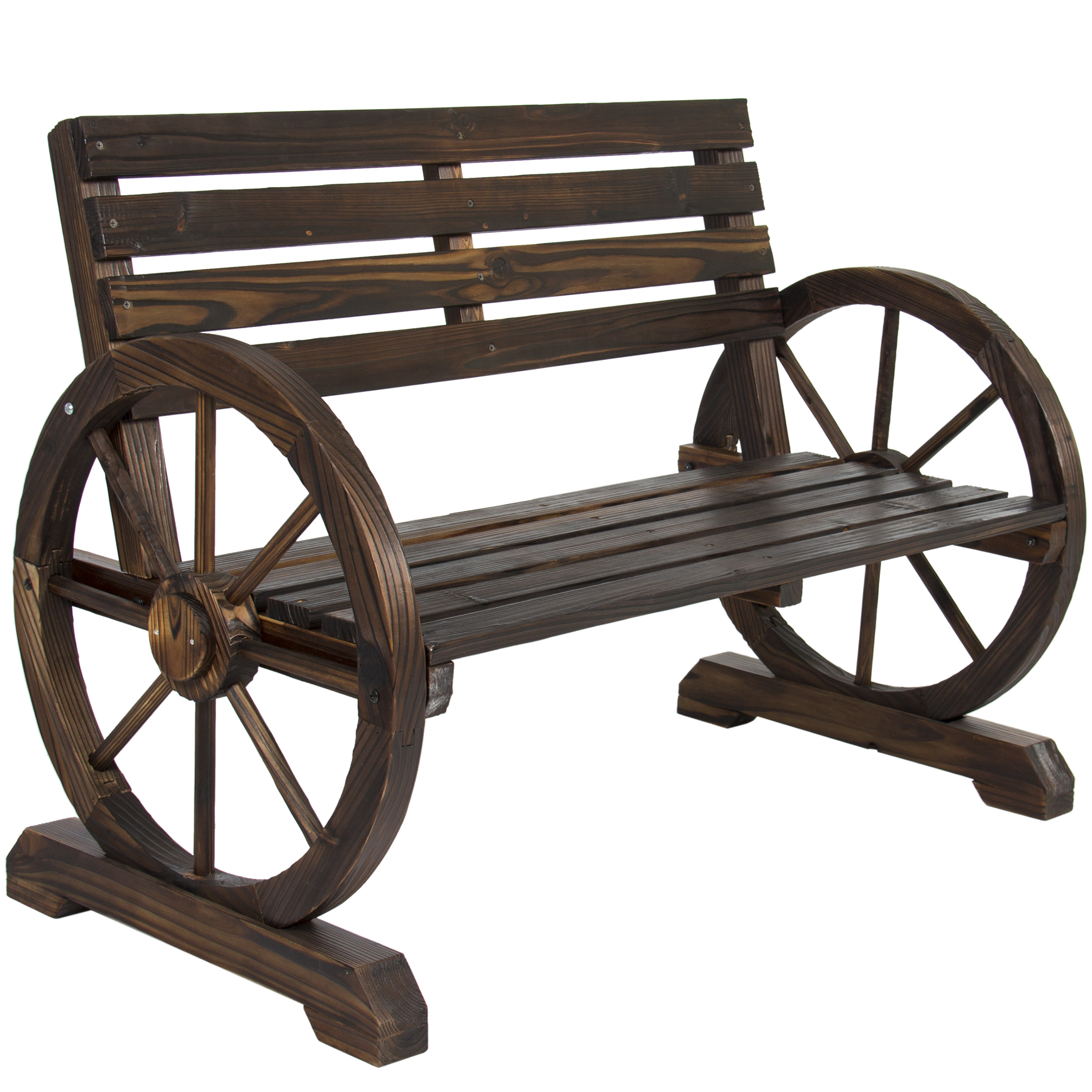 create rustic charm table garden western wheel htm will hand setting outdoor your bench crafted country in wagon