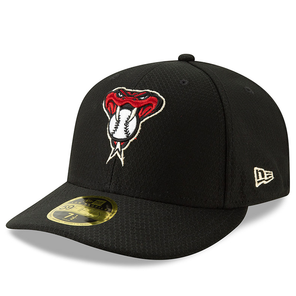 Arizona Diamondbacks New Era 2019 Batting Practice Low Profile 59FIFTY Fitted Hat - Black