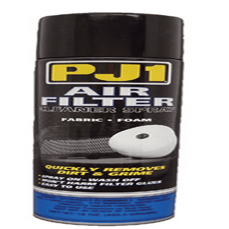 PJ1 AIR FILTER CLEANER FOR GAUZE OR FOAM FILTERS, 15OZ.