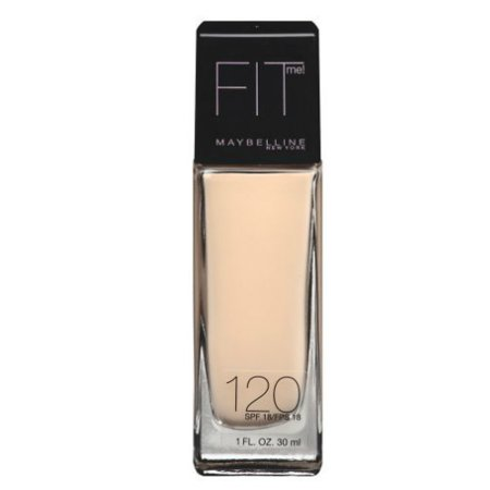 Maybelline New York Fit Me Dewy & Smooth Foundation, Classic Ivory, 1 Fl