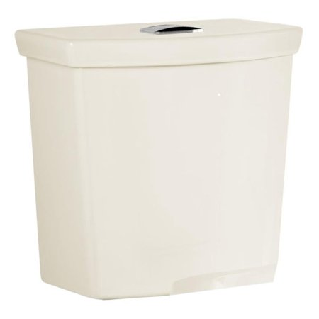 American Standard H2Option 0.92/1.28 GPF Dual Flush Toilet Tank Only with AquaGuard Liner in Linen