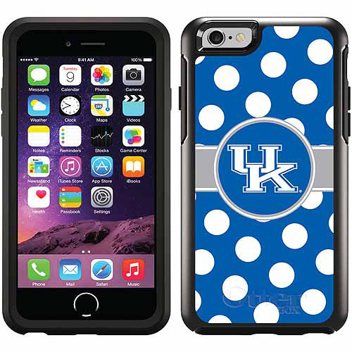 Kentucky Polka Dots Design on OtterBox Symmetry Series Case for Apple iPhone 6