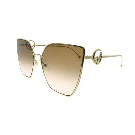 Fendi F Is Fendi FF 0323 S45 M2 Womens Cat-Eye Sunglasses