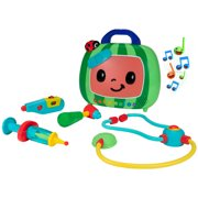 CoComelon Official Feature Roleplay Musical Checkup Case, 4PC with Sound