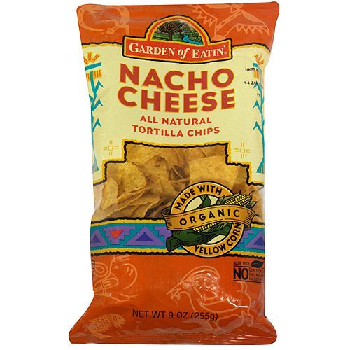 Garden Of Eatin' Nacho Cheese Tortilla Chips, 8.1 oz (Pack of 12)