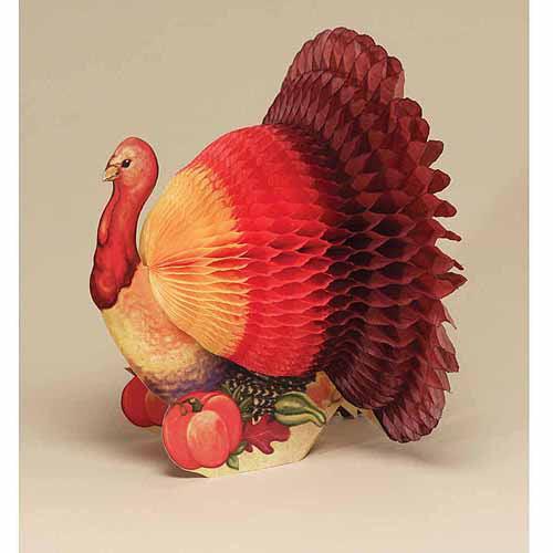 Turkey Honeycomb Centerpiece