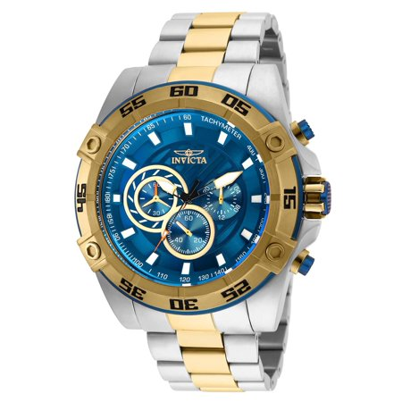 - 25538 Speedway Chronograph Blue Dial Mens Watch