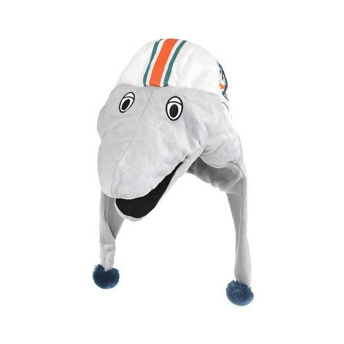 Forever Collectables NFL Mascot Dangle Hat, Miami Dolphins