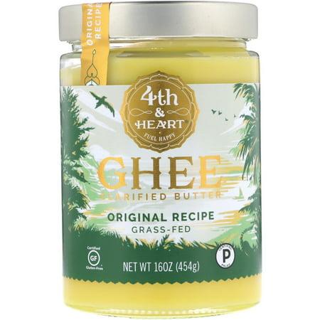 4th   Heart  Ghee Clarified Butter  Original Recipe  16 oz  454 g