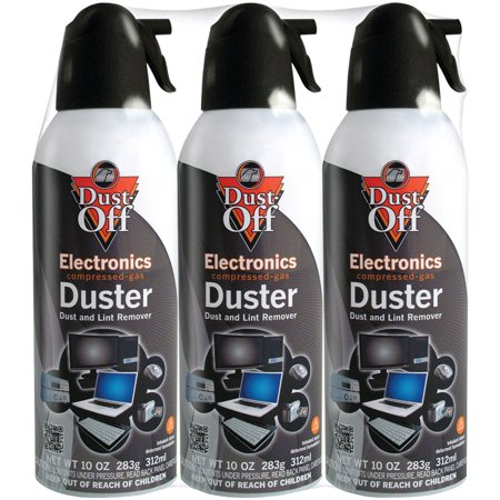 Disposable Compressed Gas Duster (Dust-Off DPSXL3 Disposable Dusters (3)