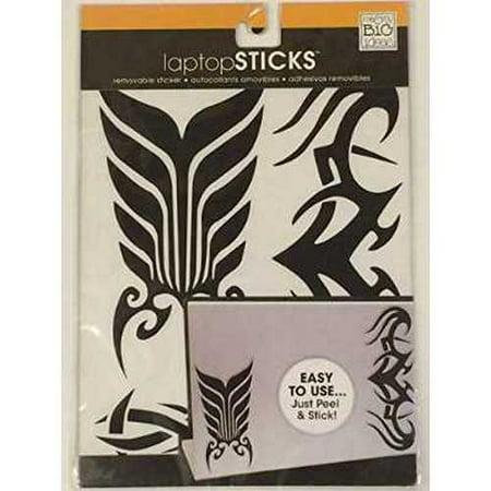 Me And My Big Ideas   Tribal Ls 66   Removable Laptop Sticker  Laptop Sticks  Black Color