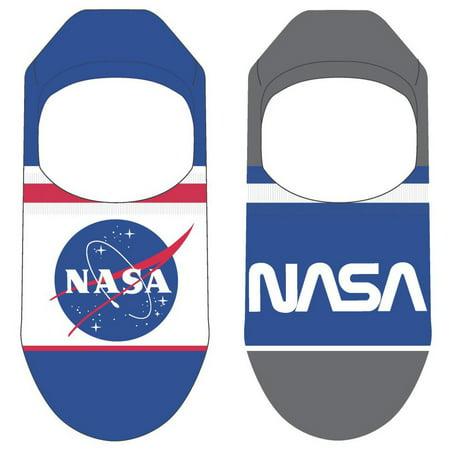 Semi Dry Mens Jumpsuit - NASA Jumpsuit No Show Liner Socks 2-Pack [Mens Fit]