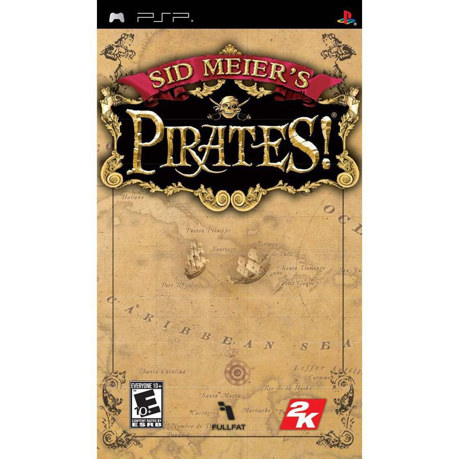 Sid Meiers Pirates (PSP) - Pre-Owned