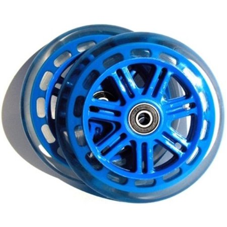 A3 Scooter 125mm Wheels BLUE pair, MFG Part Number: 13014240058 By