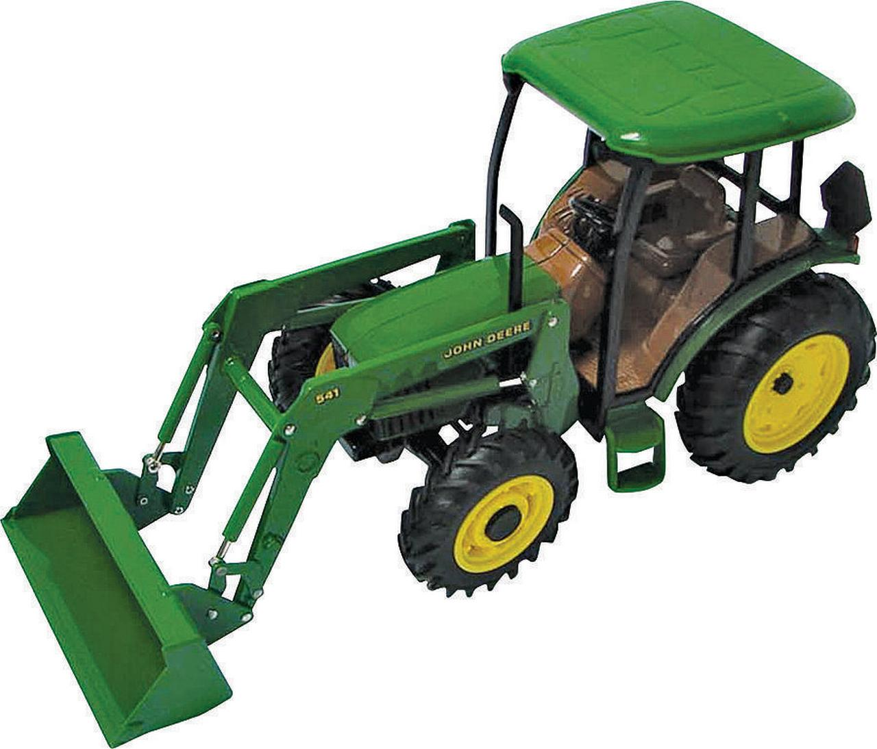 John Deere 1 16 Scale 5420 Tractor with Cab and Loader by TOMY