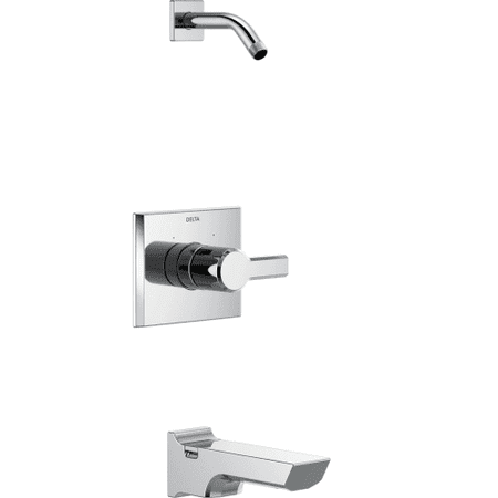 Delta Pivotal Monitor 14 Series Tub and Shower Trim - Less Head, Chrome